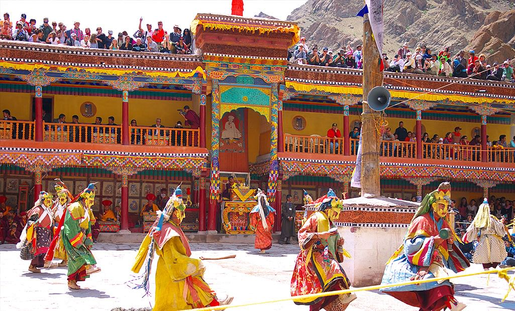 Hemis Festival Ladakh Wallpapers for free download