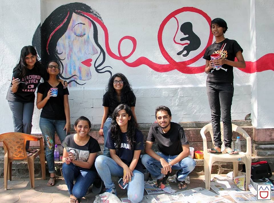 Social awareness paintings