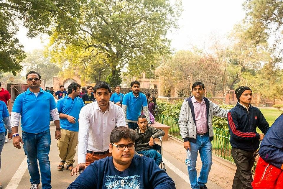Qutub tour by Planet Abled