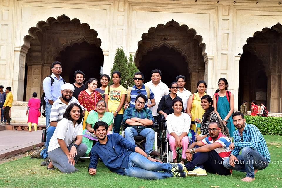 Red Fort tour by Planet Abled