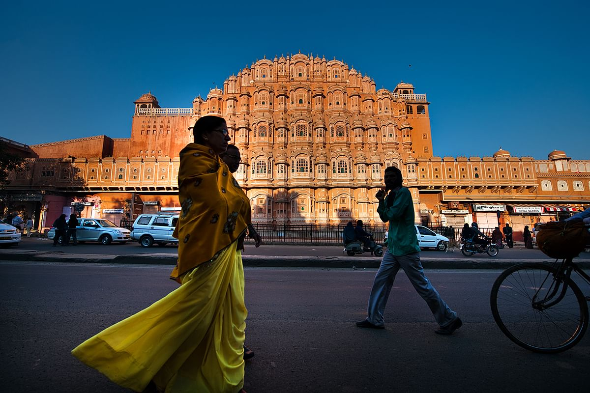 One of Jaipur's main attractions, the Hawa Mahal is also known as the 'Palace of Winds'.