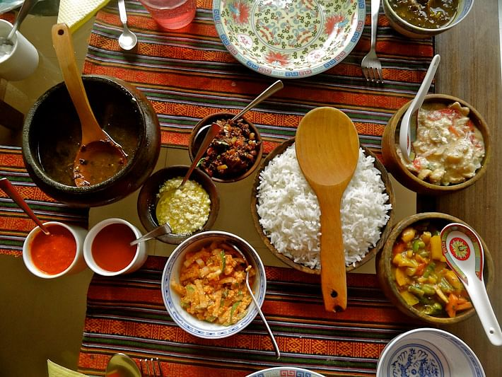 A-traditional-Sikkimese-meal
