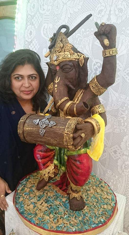 Chocolate Ganesha Ritu