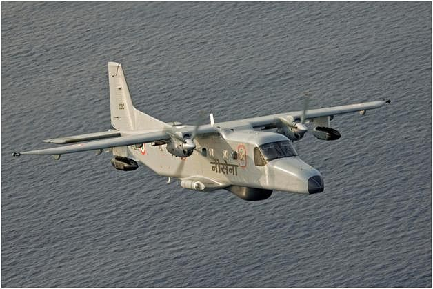 A Dornier 228 aircraft