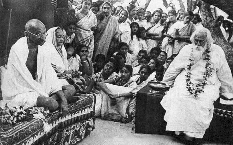 Gandhi-Tagore - Copy