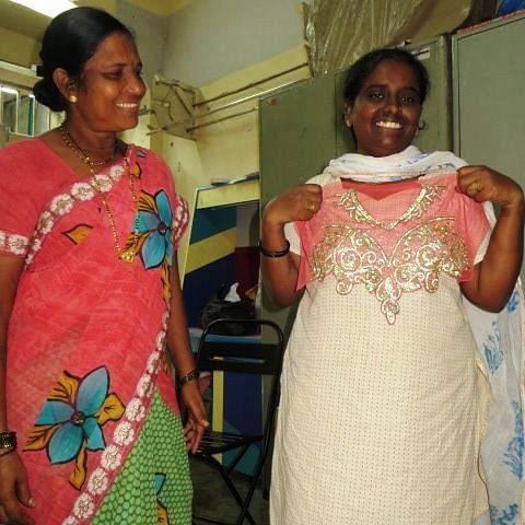 Fatima and Sheila Devi