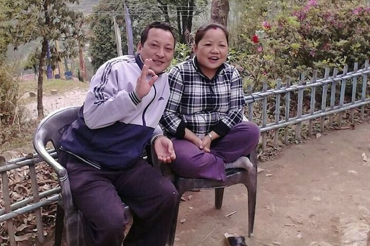 Mr. and Mrs. Gurung