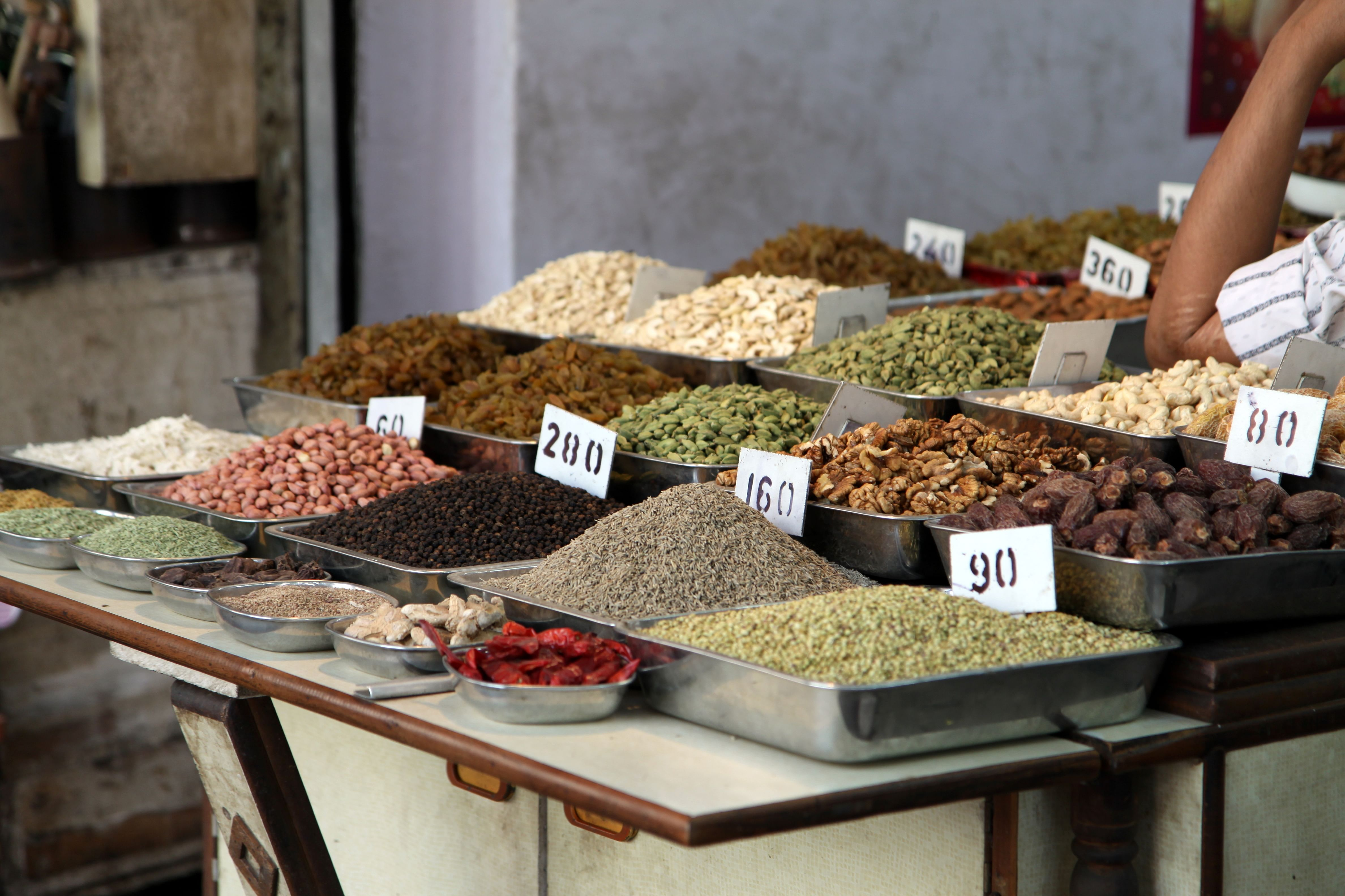 Selling spices