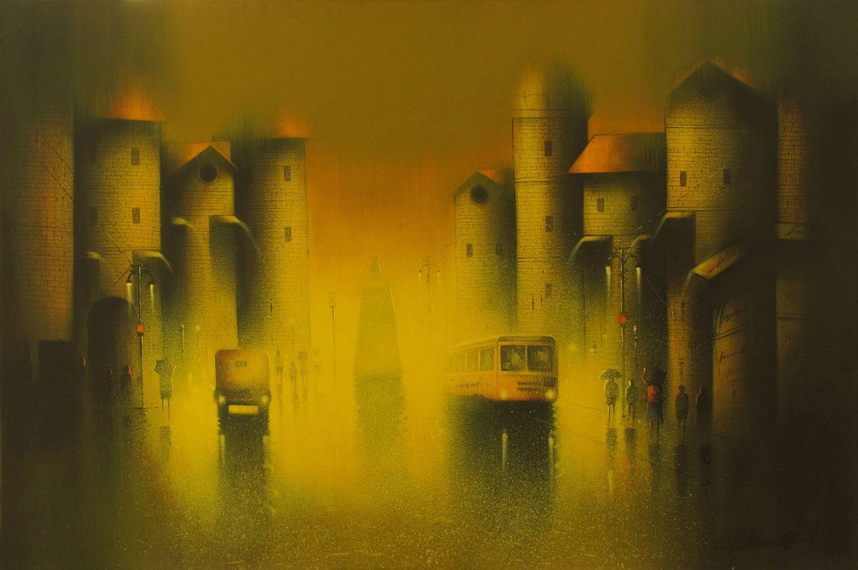 Somnath Bothe, Rain Painting