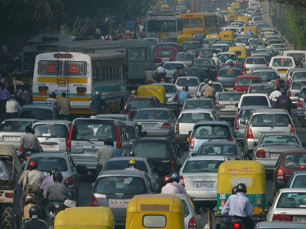 Trafficjamdelhi