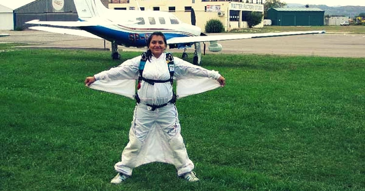 This Padma Shri Awardee is the First Woman in the World to Sky-Dive From the North & South Poles
