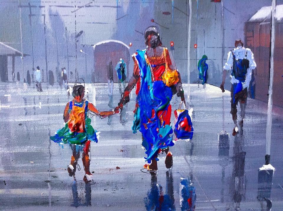 Wet Platform series by Bijay Biswaal2