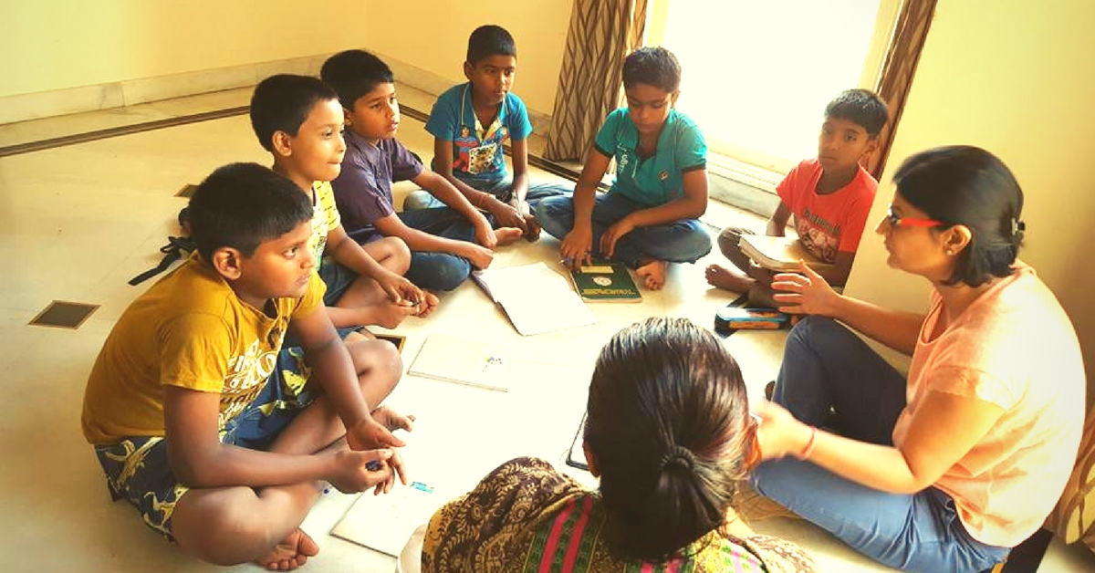 Residents of a Bengaluru Apartment Complex Fund School Fees & Tutor Their Domestic Helpers' Kids