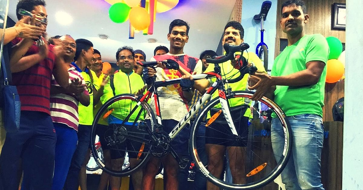 How One Man's Passion for Cycling Is Popularising the Healthy Practice in Bhubaneswar