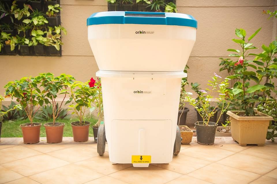 Admirable This Bin Not Only Recycles Your Kitchen Garden Waste But Interior Design Ideas Jittwwsoteloinfo