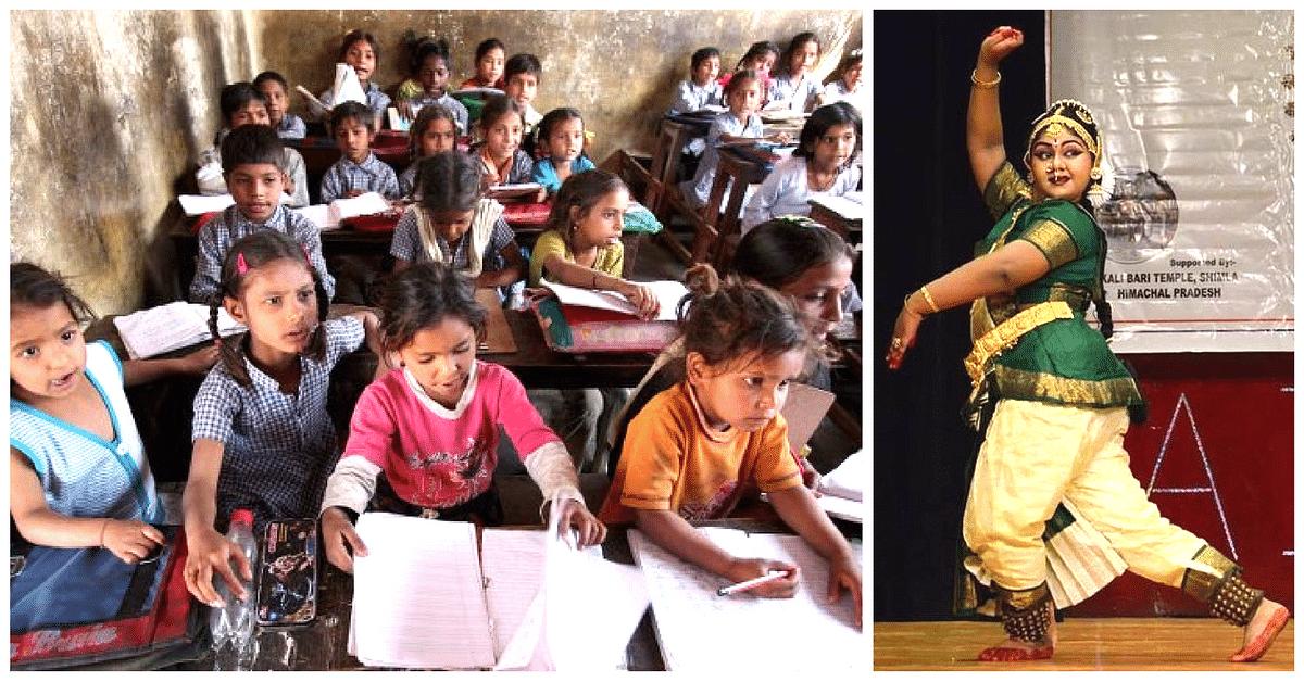 13 YO Bharatnatyam Prodigy Uses All Her Earnings to Provide Books, Bags & Uniforms for Slum Kids