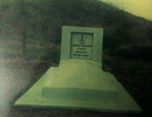 E T Joseph's grave - in 1992