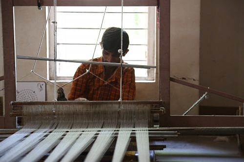 The handloom provides a canvas to the weaver, a vision to do justice to their heritage and the finer nuances during the weaving process make the handloom product irreplaceable