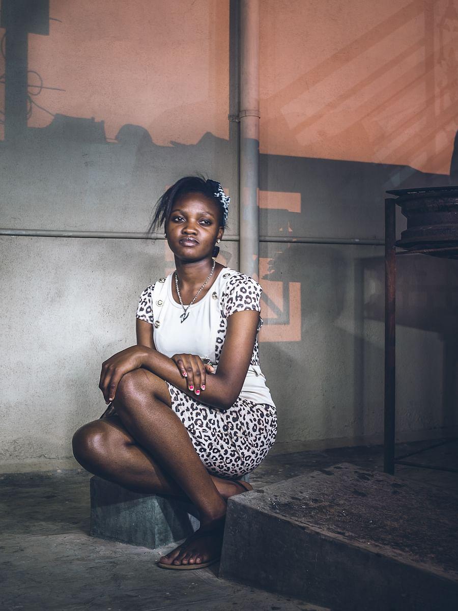 Vitu from Malawi studies Psychology at Acharaya Institute.