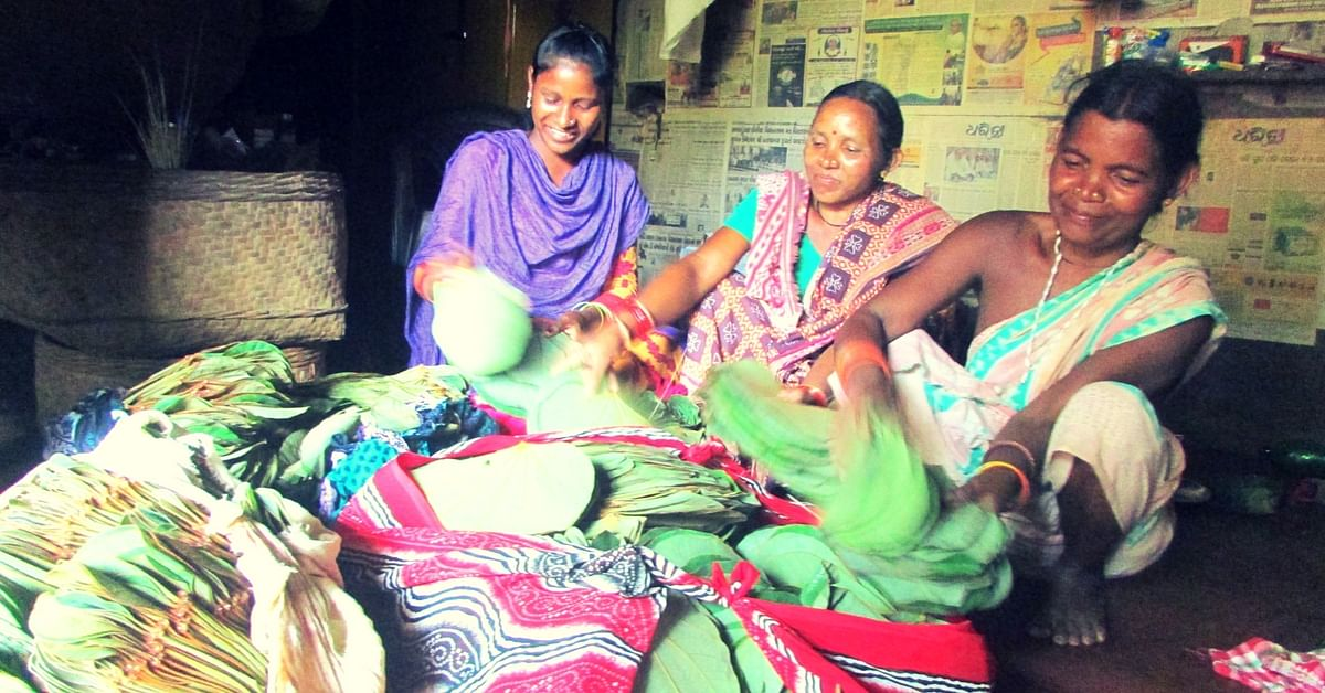 How Tribal Women from Odisha Have Been Using Leaves to Make a Living for Centuries