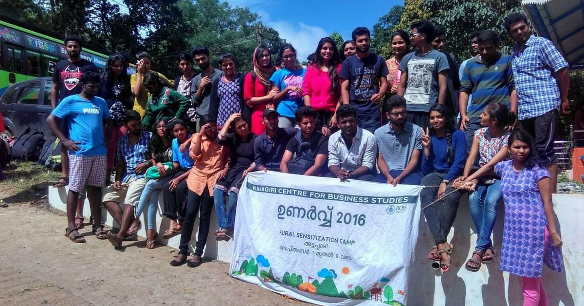 Rural Sensitization Camp By students of Rajagiri College, Attapadi District