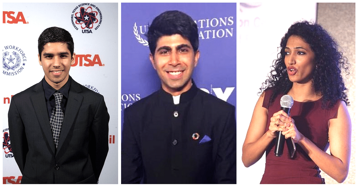 Meet the 2 Indians and 1 Indian-American Who Were Selected Among the 17 UN Young Leaders 2016