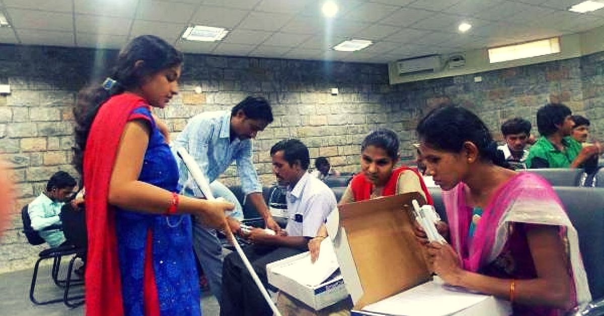 How One Bangalore Based Organisation Is Working Tirelessly to Provide Blind Students with Braille Books