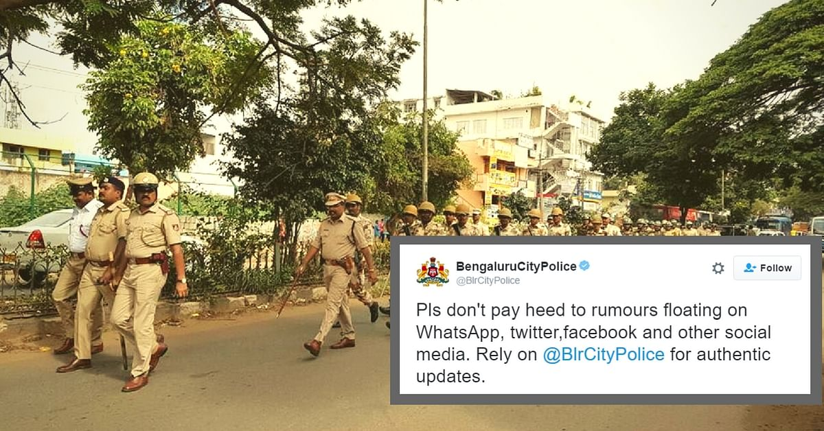 How Bangalore Police Made Good Use of Social Media to Help Citizens during Cauvery Riots
