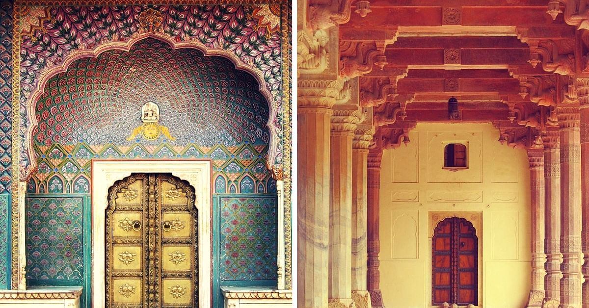 These 9 Marvellous Doorways in Amer Fort & City Palace Offer a Glimpse of Jaipur's History