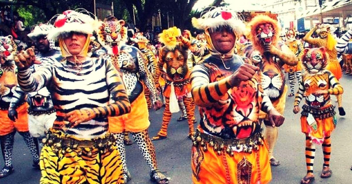 Kerala Women Break Stereotypes & Perform as Tigresses in 200-Year-Old Male Dominated Folk Dance