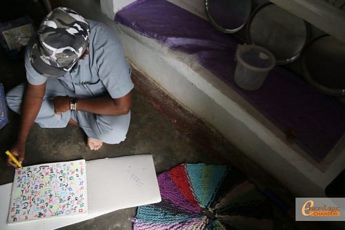 Kalle Bhai's calligraphy