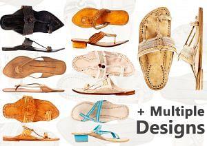 Kolhapuri Footwear Line-up