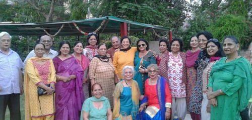 Humjoli members share a laugh