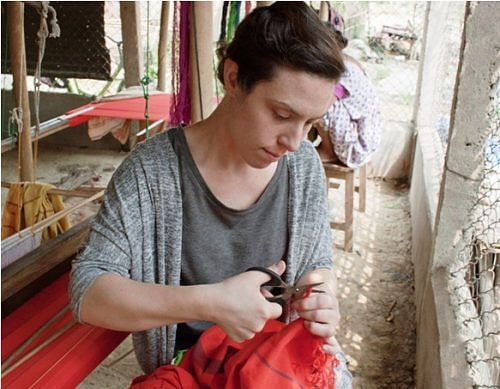 Kristine Gottilla has been visiting Assam since 2012 to derive design inspiration from the exquisite weaves of the region.