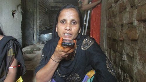 Sahida Khatun is confident of using the Azaadi Ki Udaan service to gain information on her rights as a disabled woman.