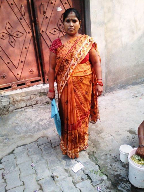 Sangeeta Awasthi, 35, is a responsible community leader, who has taken on the task of ensuring proper sanitation and water supply in her slum at Baba Ghat, flanking the Ganges in Kanpur.