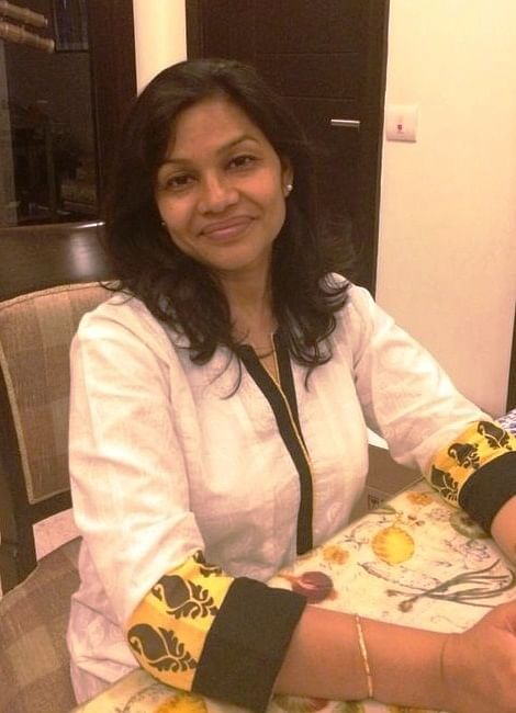 "Homemaker Taru D'Souza believes ""gifts, whether small or big, bring smiles and for me, that's the real thing."""