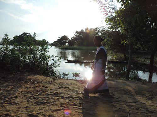 kanchan-walking