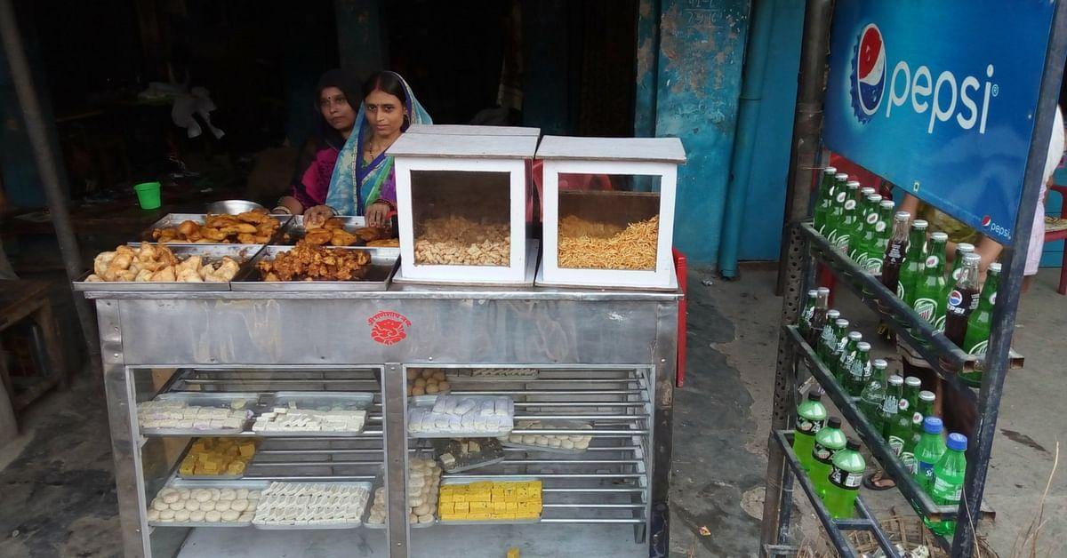Rekha and Preeti at their own eatery