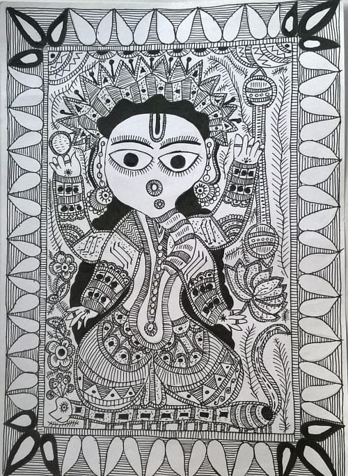 How Learning Madhubani Painting Was a Life-Changing