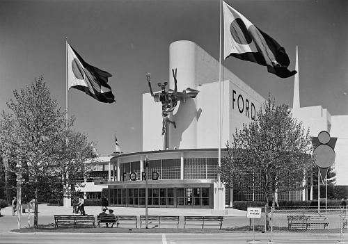 The Ford Pavilion at the World Fair