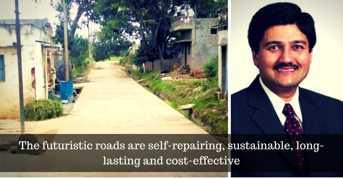 IIT Alumnus Uses Radical Technology to Develop Roads That Self-Repair