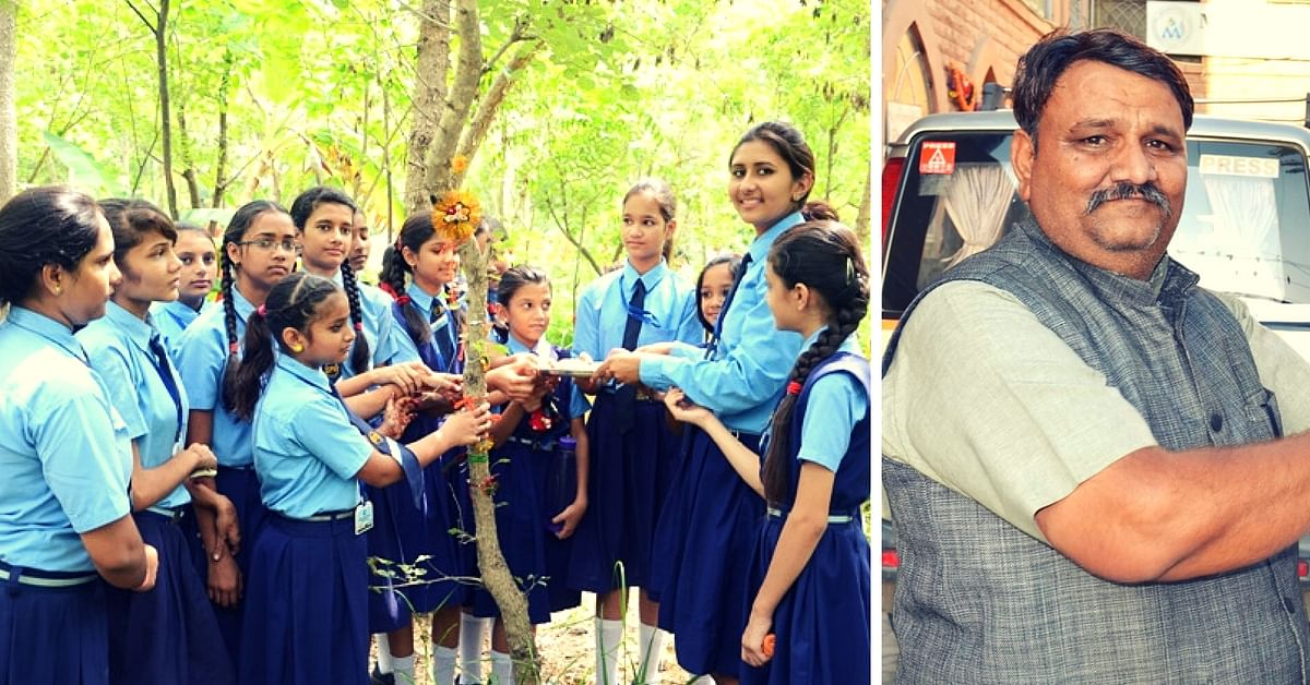 This Village in Rajasthan Plants 111 Trees for Every Girl Child Born. Thanks to One Man's Vision.