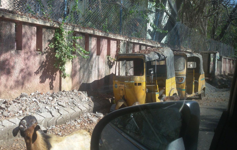 Abandoned auto rickshaws identified in Besant Nagar, Chennai