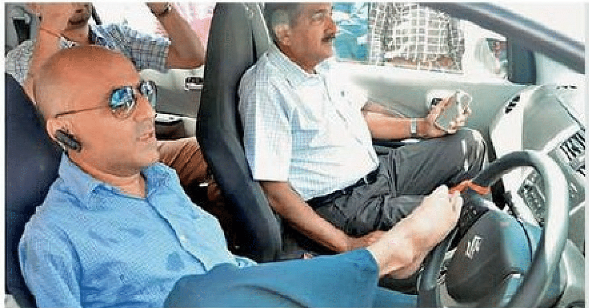 This Double Arm Amputee Drives So Well With His Legs, He Could Not Be Denied a Driving Licence!