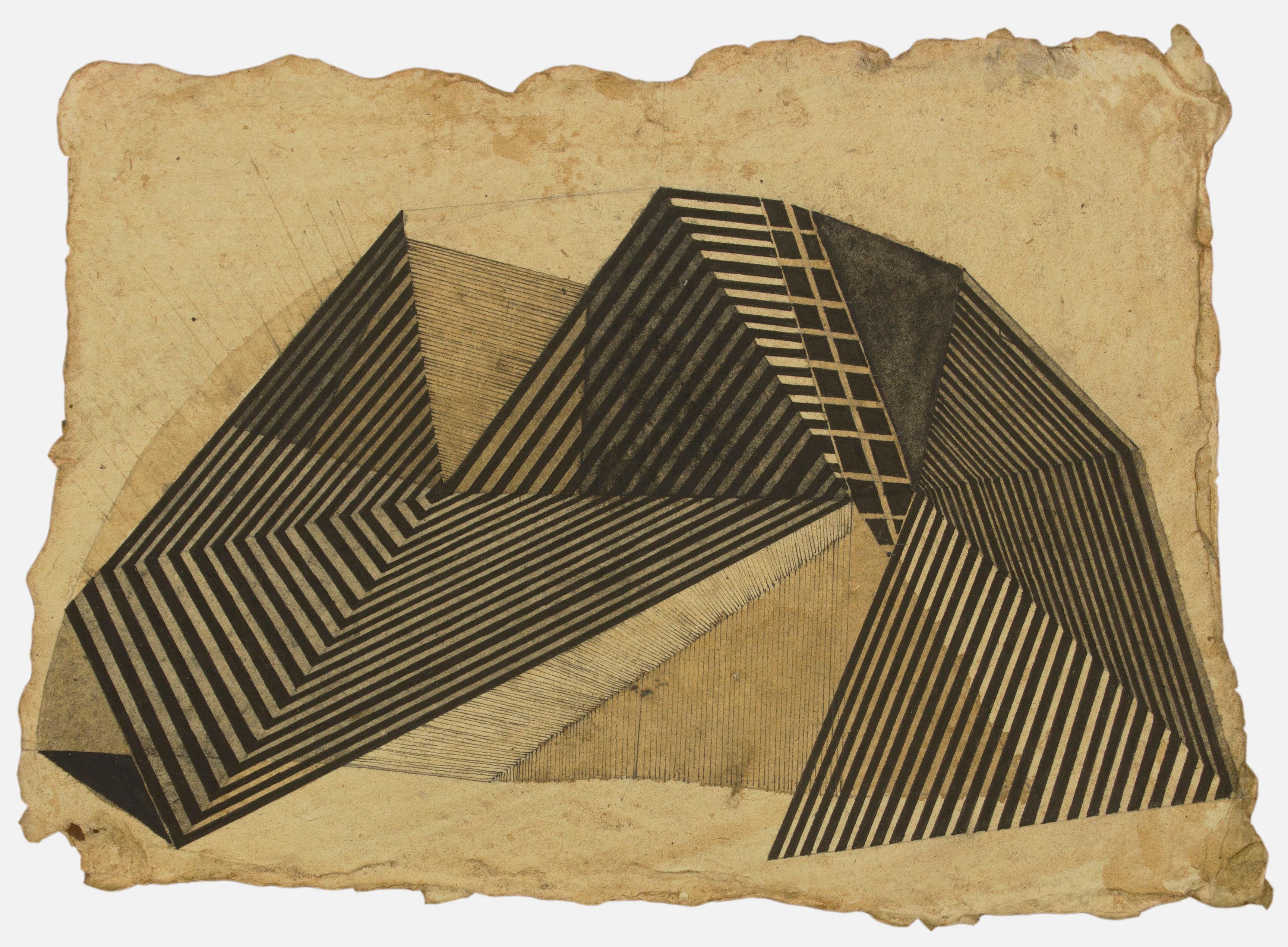 2b-bhagyashree-suthar-untitled-pen-ink-on-rajasthani-paper-9-x-6-5-in
