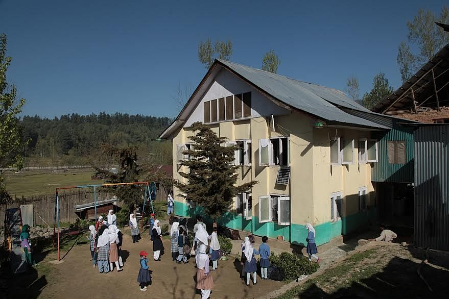 The Borderless World Foundation's home in Kupwara