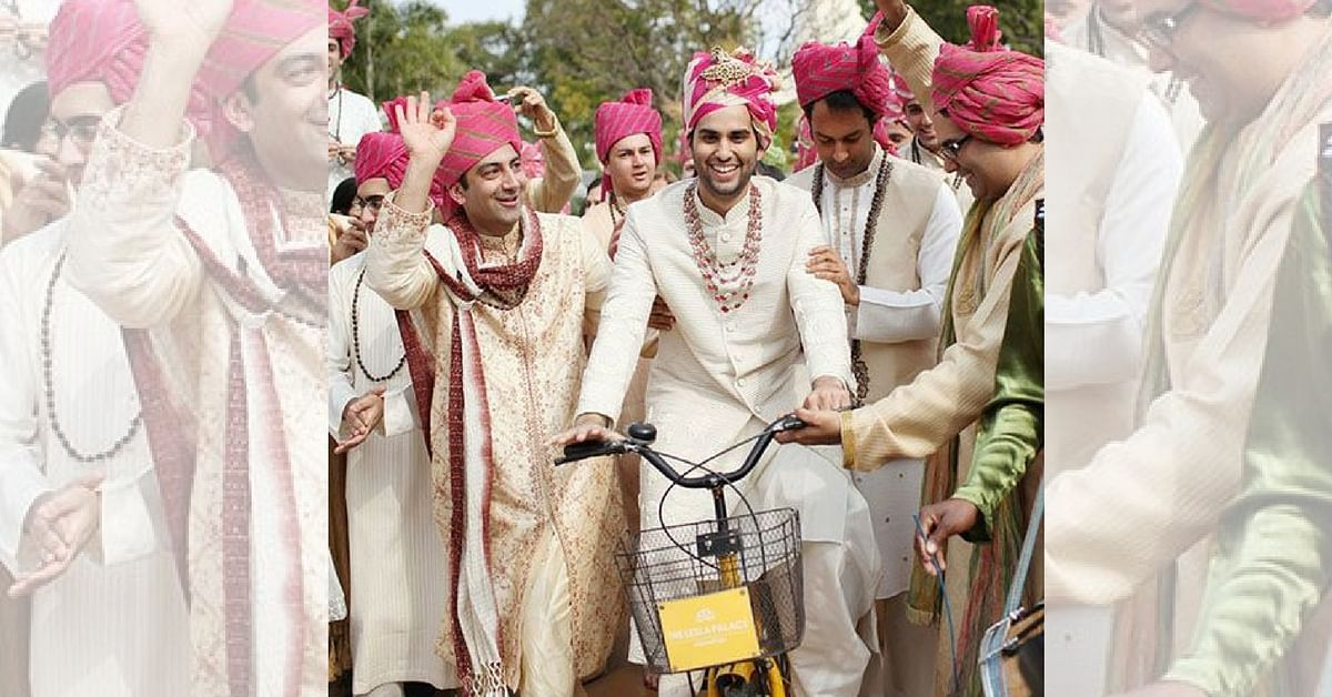258 Grooms in Surat Will Cycle to Their Weddings to Raise Awareness about Traffic & Pollution