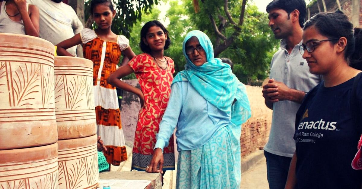 How a Bunch of Students Are Convincing Villages Around Noida to Use Water Filters