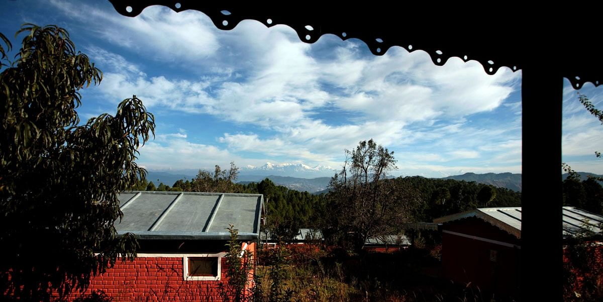 The view from Himalayan Resort, Sonapani